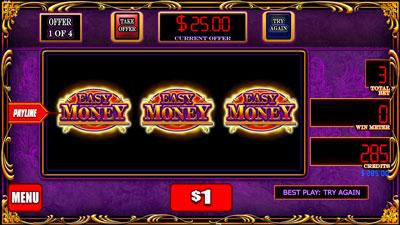 Easy Money Bonus Bottom Screen